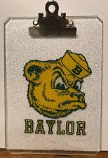 Baylor Bears University SAILOR BEAR Mini-Clipboard NICE