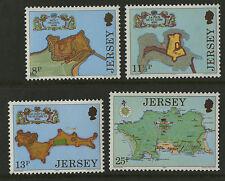 Jersey   1979   Scott # 222-225    Mint Never Hinged Set