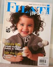 FILATI INFANTI Hand KNITTING Magazine #06 KIDS Clothes TOYS Printed in Germany