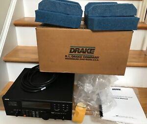 Drake R8B Communications Shortwave Ham Radio World Band Receiver Original Box