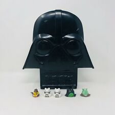 Star Wars Darth Vader Angry Birds Case 5 Figures Stormtropper Palpatine Han Solo