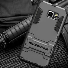 For Samsung Galaxy Note 4 Note 5 - Heavy Duty Shockproof Cover Stand Case Armor