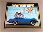 1979 MG Midget Convertible Factory Original Car Sales Brochure Catalog