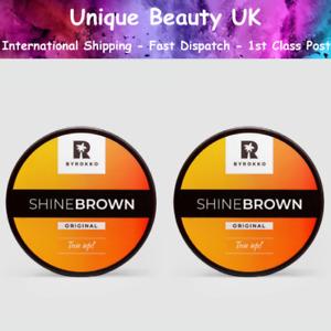 Byrokko SHINE BROWN Fast Tanning Accelerator x 2 - Fresh Stock - 1ST CLASS POST