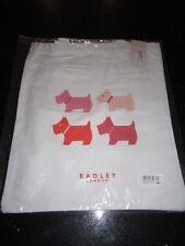 RADLEY CANVAS TOTE SHOPPING BAG QUAD DOG - SLIGHT MARKING - NEW/UNUSED