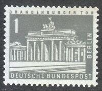 Berlin 1956 MNH Mi 140 Sc 9N120 Brandenburg Gate **