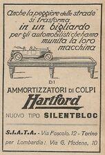 Z2224 Ammortizzatori di colpi HARTFORD - Pubblicità del 1927 - Vintage advert