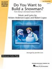 Do You Want to Build a Snowman? from Frozen Hal Leonard Student Piano  000137564