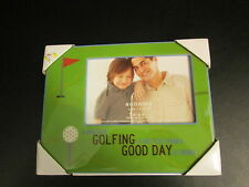 """""""A Bad Day Golfing is Better Than a Good Day at Work"""" Picture Frame, NIB"""
