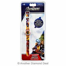 Bambini MARVEL AVENGERS DIGITAL WATCH BRAND NEW