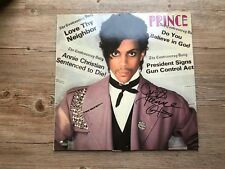 Prince signed vinyl Controversy