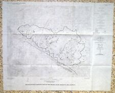 Usgs Montana Geology Mineral Resources of the Spanish Peaks Area 1966 + 2 Maps!