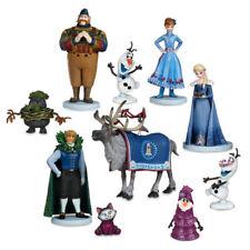 10Pcs/set Frozen2 Snow Queen Elsa Anna  PVC Action Figures Olaf Kristoff Sven