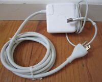 "Used Original Apple MacBook Pro 13"" MagSafe 60W Charger A1344 A1278 + FREE Cord"