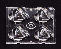 LED Linse Ledil STRADA C14896 50mm 2X2-PXL für 4 LEDs ws2812 5050 1W-Leds