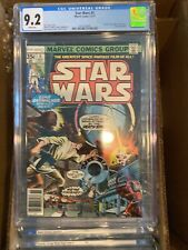 CGC 9.2 STAR WARS 5 MARVEL 11/77 WHITE PAGES