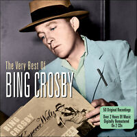 BING CROSBY * 50 Greatest Hits * NEW 2-CD Box Set * All Original Songs * NEW