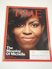 Time Magazine-  The Meaning of Michelle: Michelle Obama- June 1, 2009