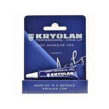 Kryolan 5346 BLACK Lash Adhesive Pro Professional Makeup Eyelash Eye Glue Stage