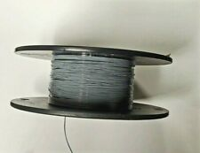 30 AWG Thin Wall,Type ET Mil-Spec Wire, Gray (PTFE) Stranded Silver Plated 25ft