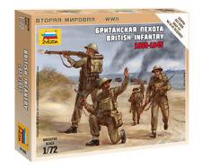 Zvezda 1/72 figuras Infantería británica 1939 - 1945 Z6166