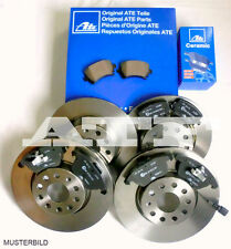 ATE Bremsen CERAMIC Bremsbeläge Bremsscheiben BMW X5 E70 348mm 320mm Komplett