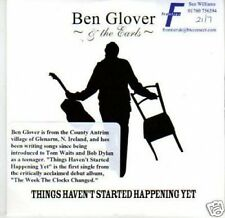 (I133) Ben Glover & The Earls, Things Haven't St- DJ CD