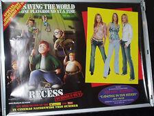 Cinema Poster: RECESS - SCHOOL'S OUT 2003 (Atomic Kitten Quad) Walt Disney