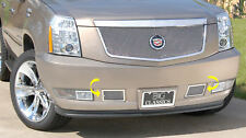 2PC FINE MESH TOW HOOK COVERS E&G FITS 2007-2014 CADILLAC CADY ESCALADE