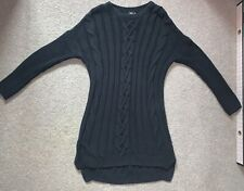 Asos Oversized Cable Knit Jumper Dress Size 8