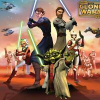 STAR WARS CLONE Cuddly Wrap THROW BLANKET - Yoda Obi Wan Skywalker Storm Trooper