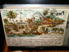 #9707,German Colonial Expo, Africa, Berliner Gewerbe Ausstellung,1896 to Sf Ca