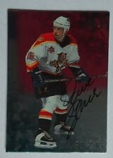 1998-99 Be A Player Dave Gagner Florida Panthers - Auto