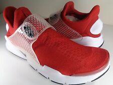 Nike Sock Dart Gym Red Black White SZ 10 (819686-601)