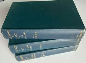 1923 RENAISSANCE IN ITALY, 3 VOLS, REVIVAL, DESPOTS, FINE ARTS, FREE EXPRESS W/W