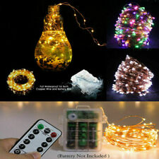 200LED Fairy Lights String Copper Wire Lights Waterproof Christmas Wedding Party