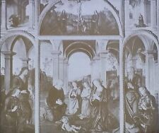 Nativity, Perugino, Villa Albani, Rome, Italy, Magic Lantern Glass Art Slide