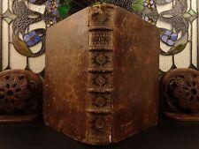 1661 Dutch Cornelius Jansenius BIBLE & Commentary Jansenism Pentateuch Torah