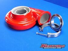 "S400 V-band Flange to 3"" Tube Steel with clamp kit"