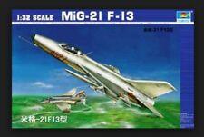 Trumpeter 02210 1/32 Scale Fighter Soviet Mig-21 F-13 Warplane Aircraft Model