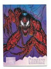 1995 Marvel Masterpieces Carnage HoloFlash Insert Card #2