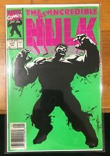 The Incredible Hulk #377  Newstand (Marvel 1991) 1st App Professor Hulk 7.5-8.5