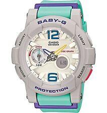 BRAND NEW BGA-180-3B Green Casio Baby-G Lady's Digital Analog Watches
