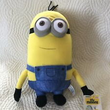Minion Plush Kevin Two Eyes Despicable Me 11 inches overalls