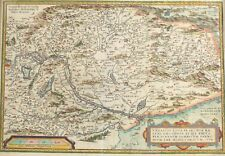 Joannes Sambucus Antique Neerlandica Hungary Ortelius Map No. 151