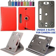 """360° Rotating Smart Case Cover Fits EE JAY 8"""" Inch Tablet with Free Stylus/Pen"""