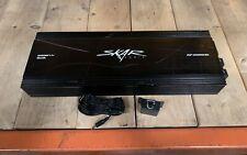 Used Skar Audio Rp-2000.1D 2800 Watt Max Power Class D Mono Sub Amplifier