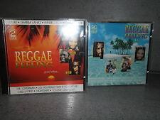 """""""Reggae Feeling""""  """"Reggae Feeling II""""   2 Doppel-CD´s CD Album"""