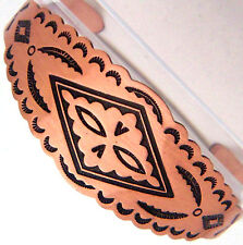 Copper Cuff Bracelet Wheeler Arthritic Healing Detox Folklore Sciatica cb 106