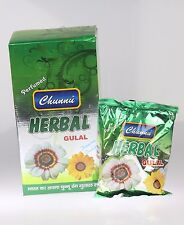Herbal Holi Powder Colour Festival Throwing Powder Pouch BOX GIFT SET5pc